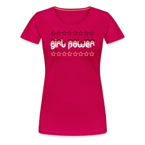 Girl Power Women's Premium T-Shirt - Women's Premium T-Shirt