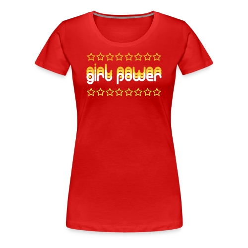 Girl Power Women's Premium T-Shirt - Women's Premium T-Shirt