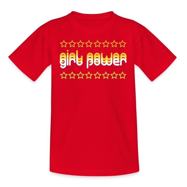 """Girl Power"" Kids' T-Shirt"