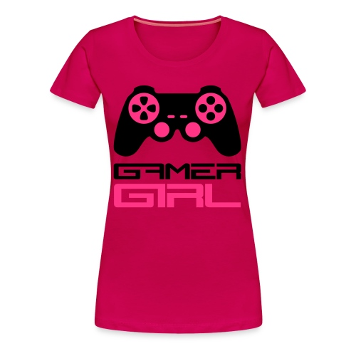 T-SHIRT GAMER GIRL - Women's Premium T-Shirt