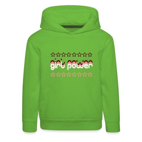 Girl Power Kids' Hoodie - Kids' Premium Hoodie
