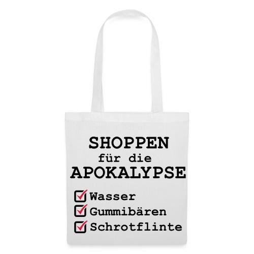 Shoppingtasche für die Apokalypse - Stoffbeutel
