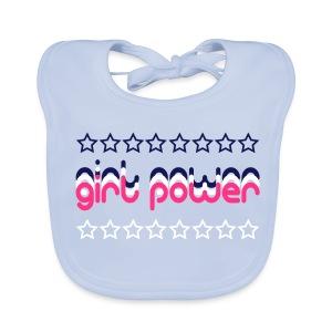 Girl Power Baby Organic Bib - Baby Organic Bib