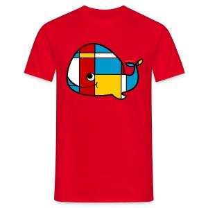 Whale Men's T - Men's T-Shirt