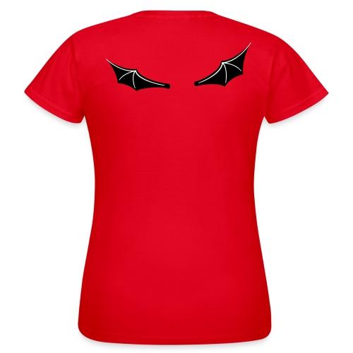 Teufelsflügel - Frauen T-Shirt