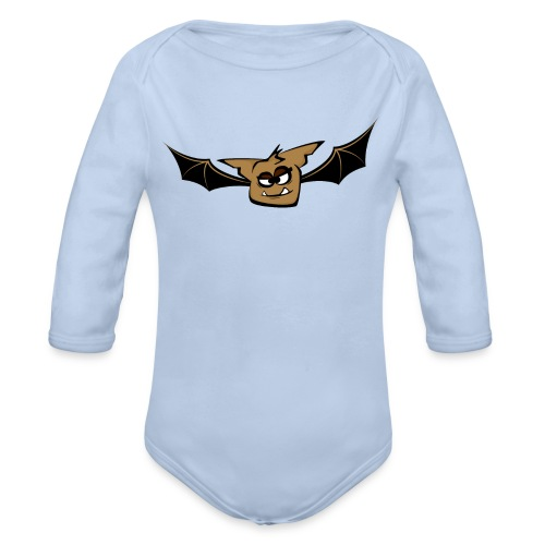 Fledermaus - Baby Bio-Langarm-Body