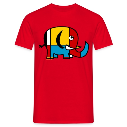 Elephant Men's T-Shirt - Men's T-Shirt