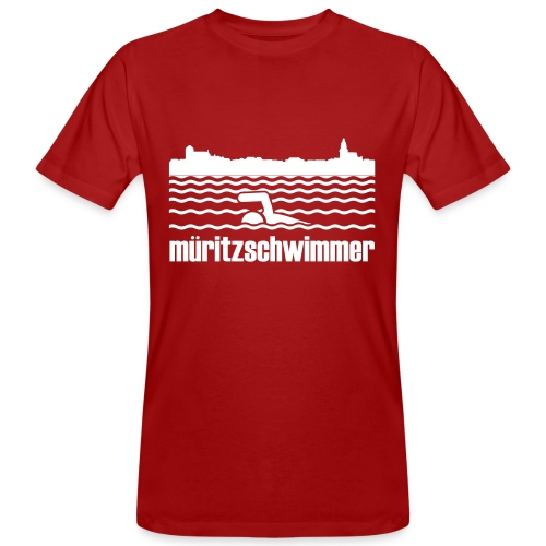 Müritz-Swim 2014 - Männer Bio-T-Shirt