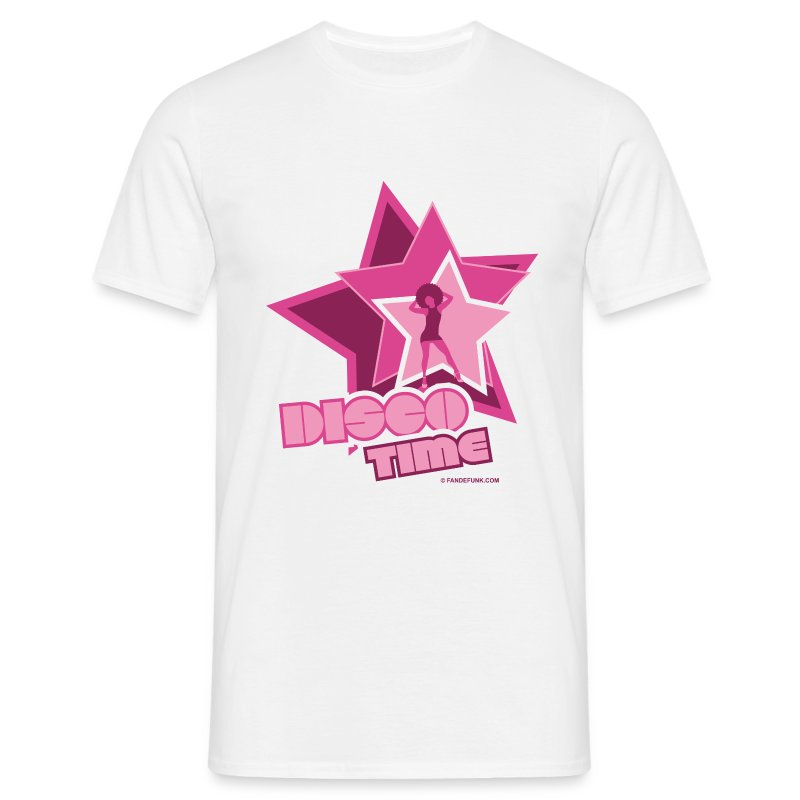 16 disco time rose - T-shirt Homme