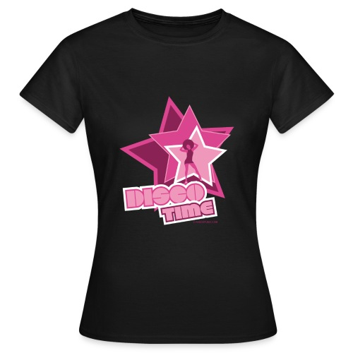 16 disco time rose - T-shirt Femme