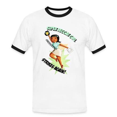 Super Reggae Girl - Men's Ringer Shirt