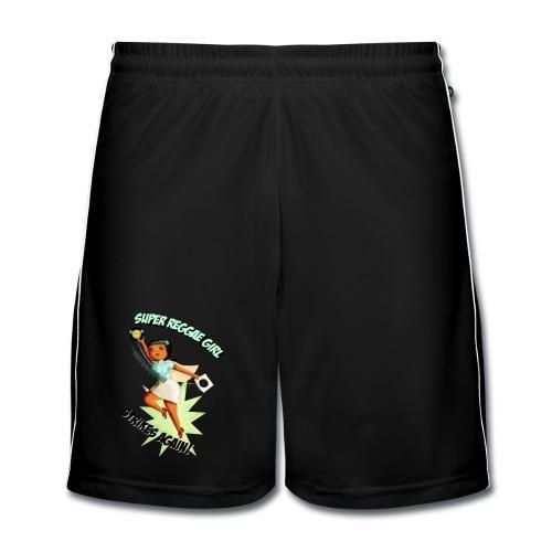 Super Reggae Girl - Men's Football shorts