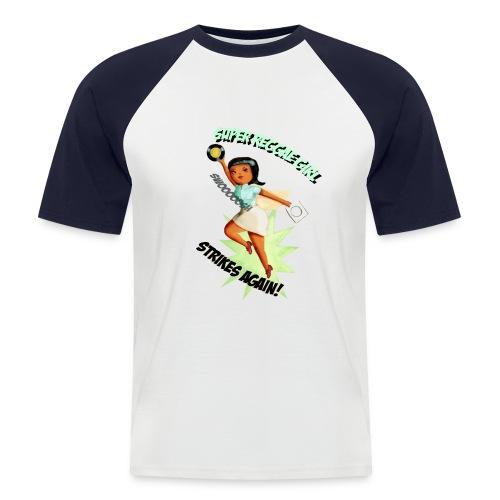 Super Reggae Girl - Men's Baseball T-Shirt