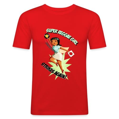 Super Reggae Girl - Men's Slim Fit T-Shirt
