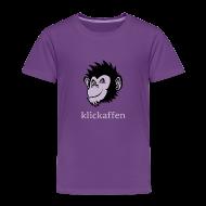 T-Shirts ~ Kinder Premium T-Shirt ~ Klickaffen Kids-Shirt