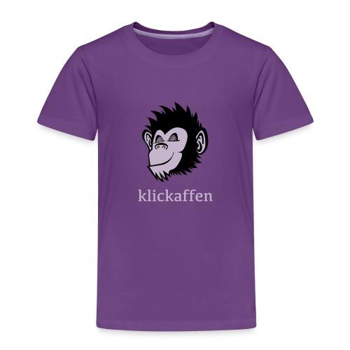 Klickaffen Kids-Shirt - Kinder Premium T-Shirt