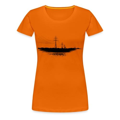 Powerline Women - Women's Premium T-Shirt
