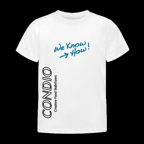 CONDIO - We Know How Kids Home - Kids' T-Shirt