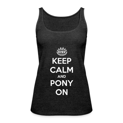Ladies' Tank Pony - Frauen Premium Tank Top
