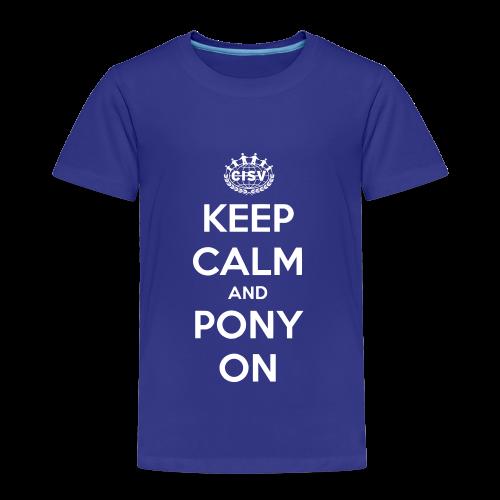 Kids Pony - Kinder Premium T-Shirt
