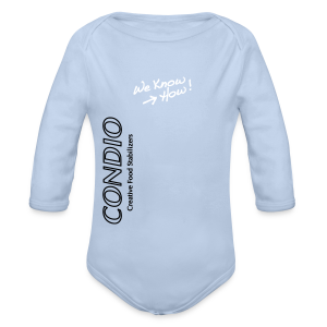 CONDIO - We Know How Baby Away - Organic Longsleeve Baby Bodysuit