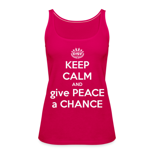 Ladies' Tank Peace - Frauen Premium Tank Top