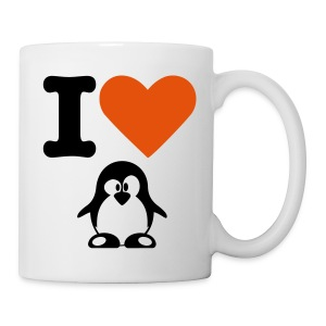I love Penguin Cup - Tasse