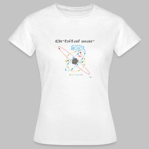 Tshirt femme (woman) Orbital war - Women's T-Shirt