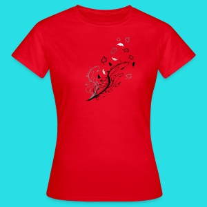 Verschlungener Herbst.Intertwined autumn.  - Frauen T-Shirt