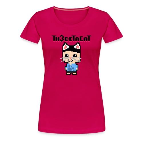 Pixel Beta - Women's Premium T-Shirt