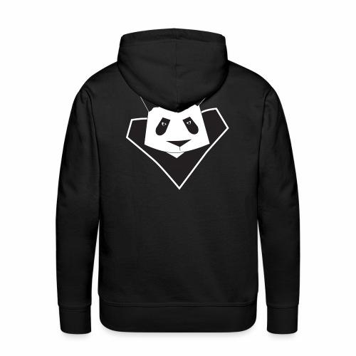 Sweat shirt à capuche homme super panda - Sweat-shirt à capuche Premium pour hommes