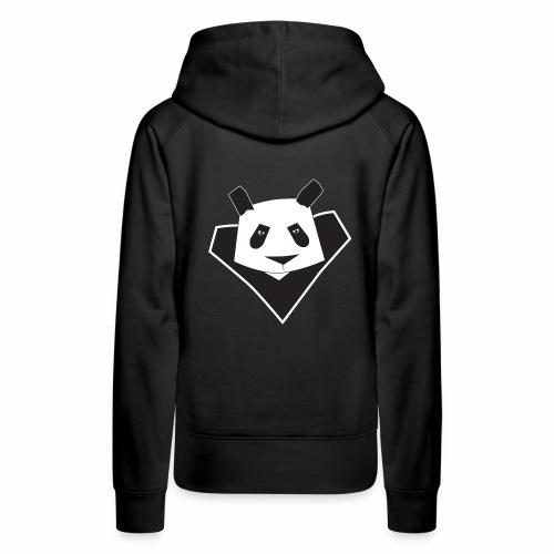 Sweat shirt à capuche femme super panda - Sweat-shirt à capuche Premium pour femmes