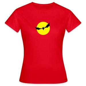 Fledermaus Mond - Frauen T-Shirt