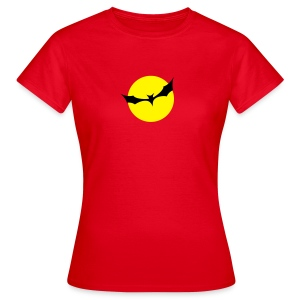 Fledermaus Mond - Frauen T-Shirt