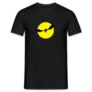 Fledermaus Mond - Männer T-Shirt