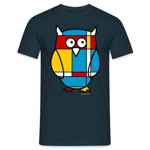 Owl Men's T-Shirt - Men's T-Shirt