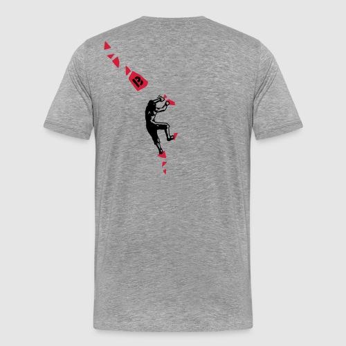 king fisher 2 black-red - Männer Premium T-Shirt