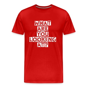 What are you.. - Men's Premium T-Shirt