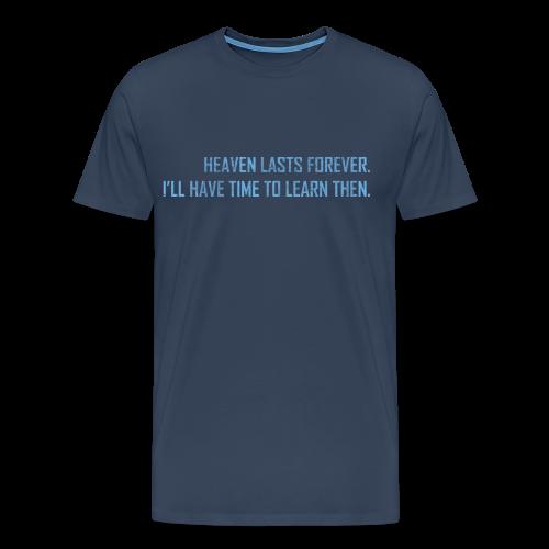 I Need Sleep T-shirt - Herre premium T-shirt