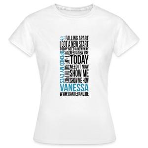 DANTE T-Shirt woman white - Vanessa - Frauen T-Shirt