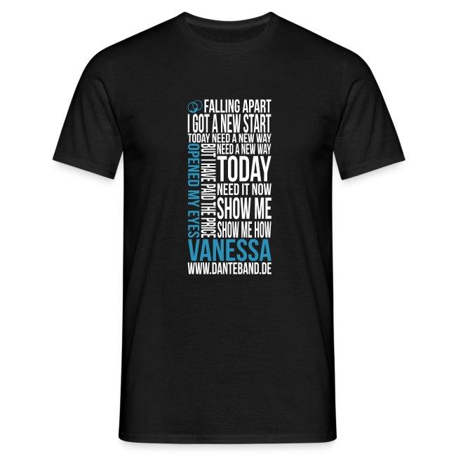DANTE T-Shirt men black standard - Vanessa