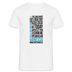 DANTE T-Shirt men white standard - Vanessa - Männer T-Shirt