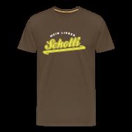 T-Shirts ~ Männer Premium T-Shirt ~ Mein Lieber Scholli!