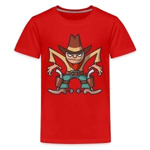 VL105A_Cowboy_4c T-Shirts - Teenager Premium T-Shirt