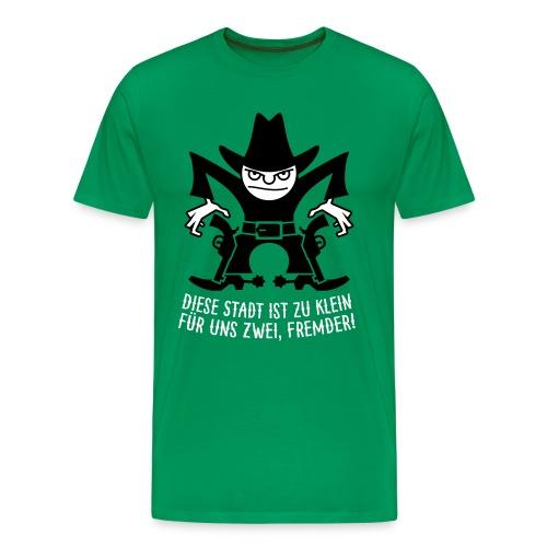 VL105C_Cowboy_2c_Schrift T-Shirts - Männer Premium T-Shirt