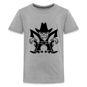 VL105B_Cowboy_1c T-Shirts - Teenager Premium T-Shirt