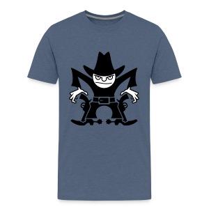 VL105D_Cowboy_2c T-Shirts - Teenager Premium T-Shirt