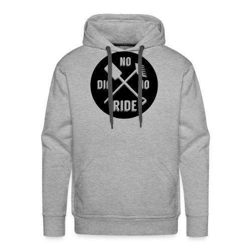 SoliD No Dig No Ride Hoody - Mannen Premium hoodie