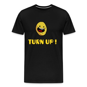Turn Up T-Shirt - Men's Premium T-Shirt