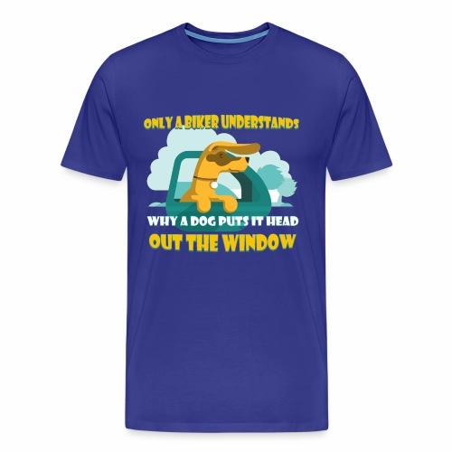 Only a biker understands - Men's Premium T-Shirt